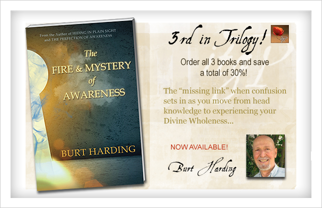 The Fire & Mystery of Awareness by Burt Harding